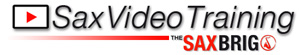 SAXOPHON VIDEO TRAINING Logo