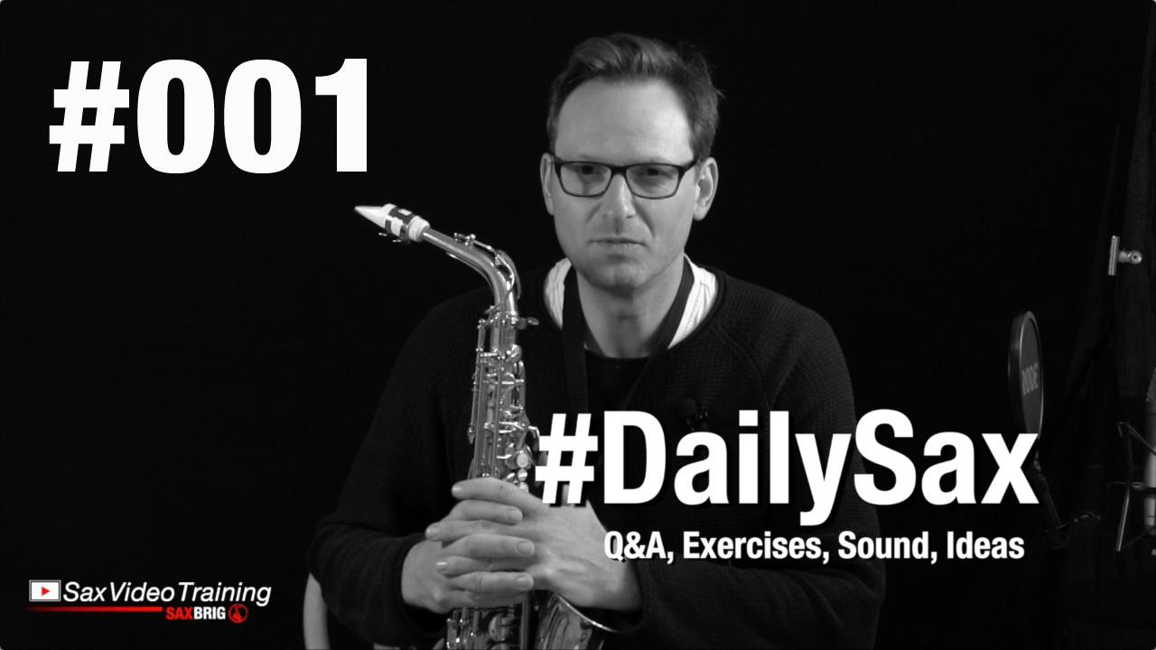 dailysax 001 schnelle finger d minor saxophon lernen. Black Bedroom Furniture Sets. Home Design Ideas
