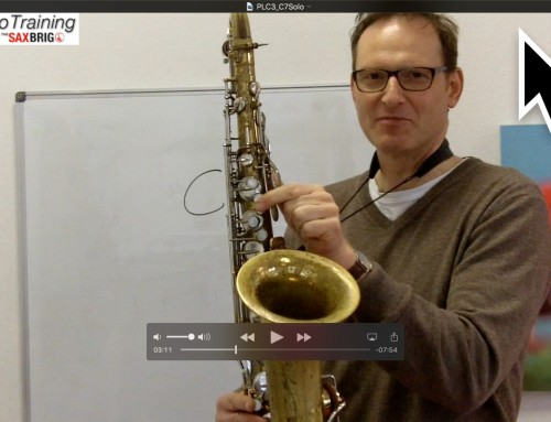 Jammin´mit C7 – Saxophon Playback / Backing Track – Improvisation lernen