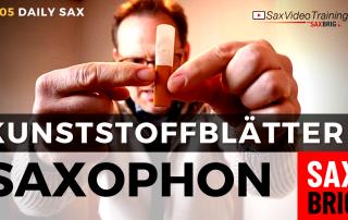Kunststoffblatt saxophon