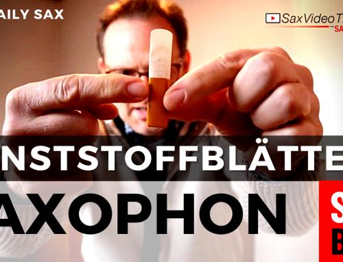 Kunstoffblätter für Saxophone im Test. Daily Sax 205