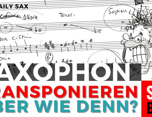 Transponieren für Saxophone – Daily Sax