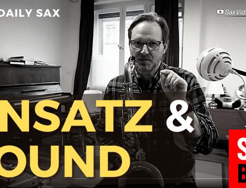 Frage von Yvonne zum Ton – Saxophon Ansatz Tipps wenn die Saxophon Töne quietschen – DailySax #216