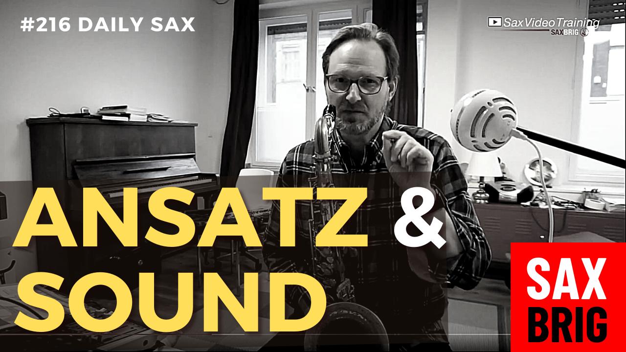 Saxophon Ansatz Tipps