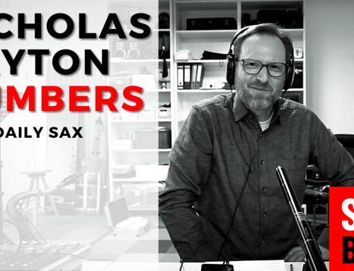212 Saxophon Improvisation mit Nicholas Payton – Numbers – Coole Platte zum Mitspielen
