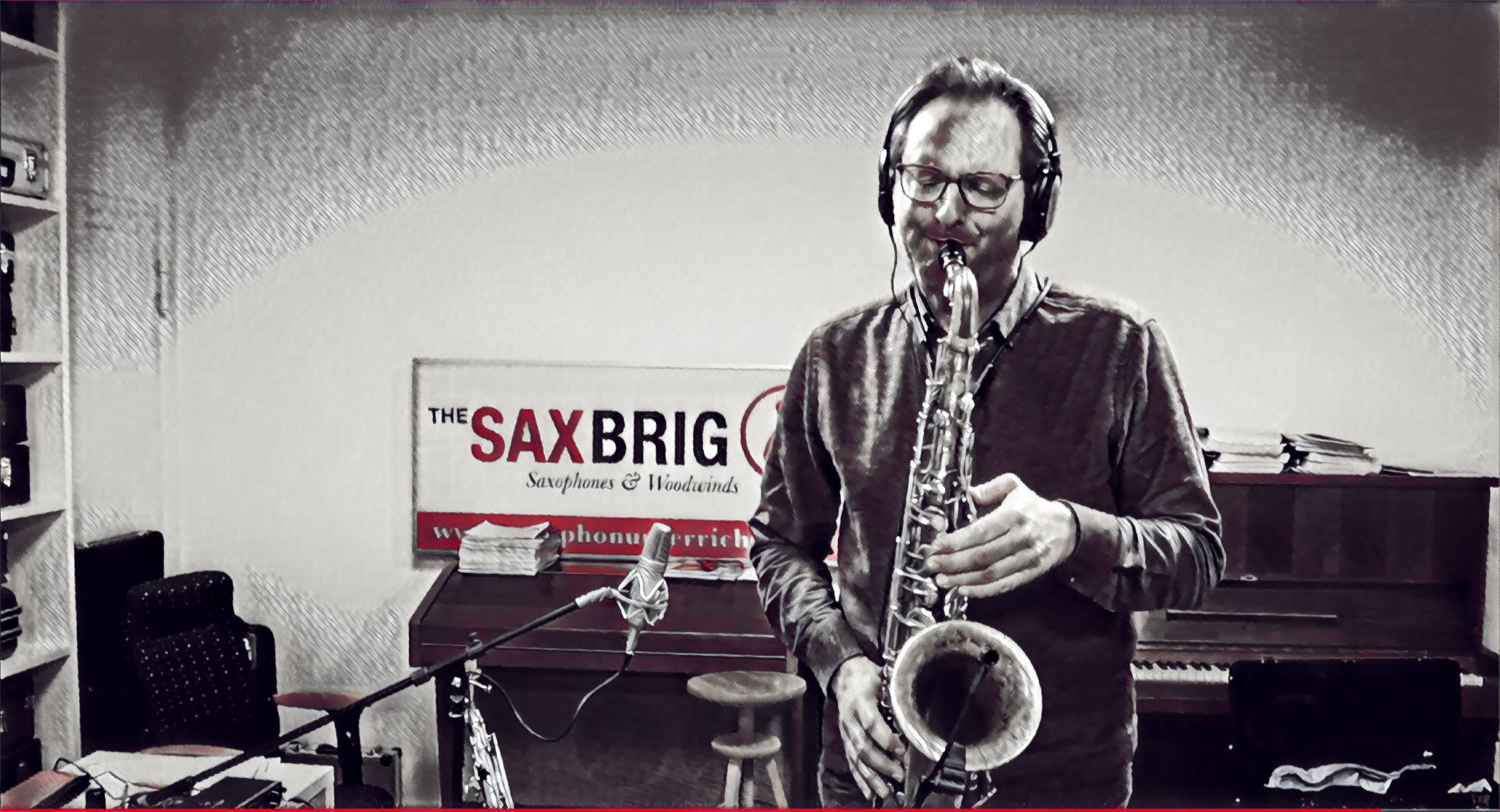 My foolish heart saxophone
